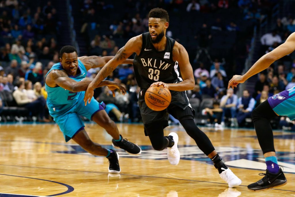 Crabbe's 29 points paces Nets to win over Hornets