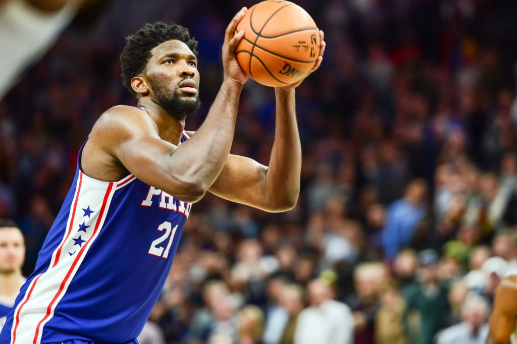 76ers' Embiid calls Heat's Whiteside 'kind of dirty' for targeting bad back