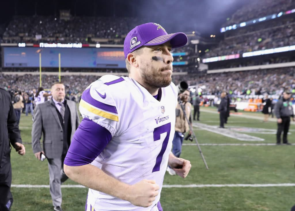 Case Keenum reportedly plans to sign with Broncos