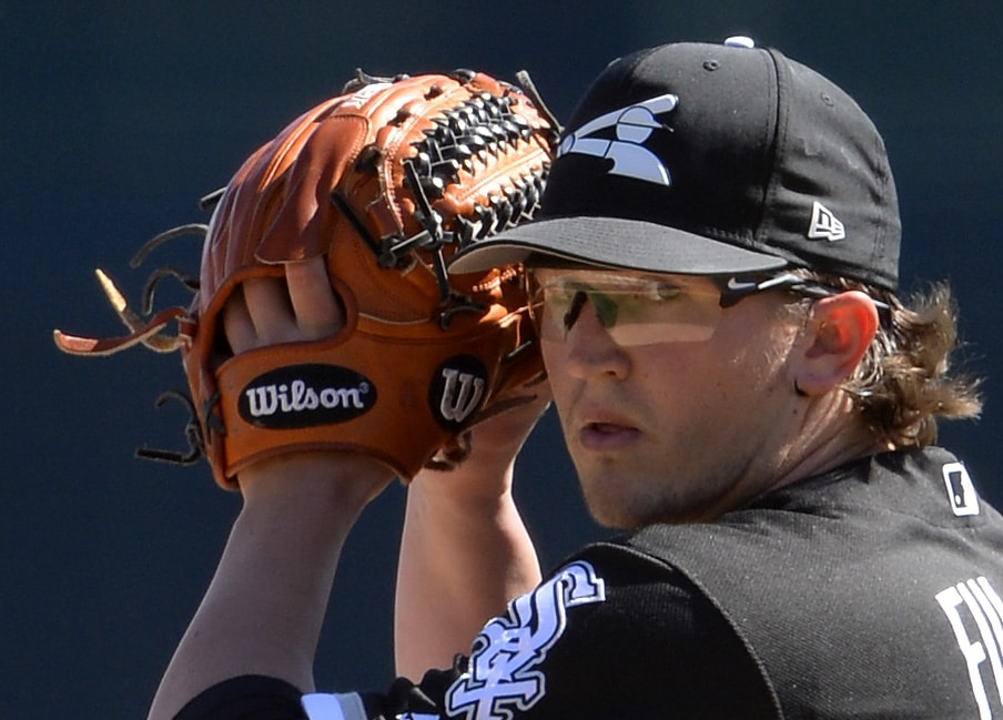 GLENDALE, ARIZONA - MARCH 04:  Carson Fulmer of the Chicago White Sox pitches against the San Diego Padres on March 4, 2018 at Camelback Ranch in Glendale Arizona.  (Photo by Ron Vesely/MLB Photos via Getty Images)