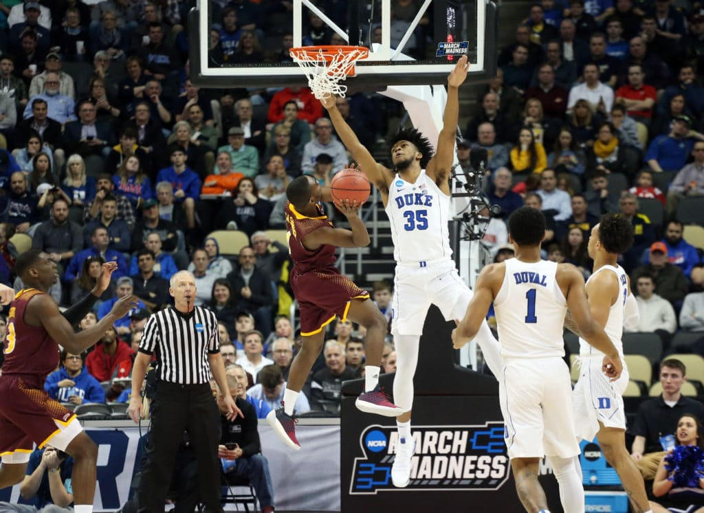 Duke Routs Iona In 1st Round Of NCAA Tournament