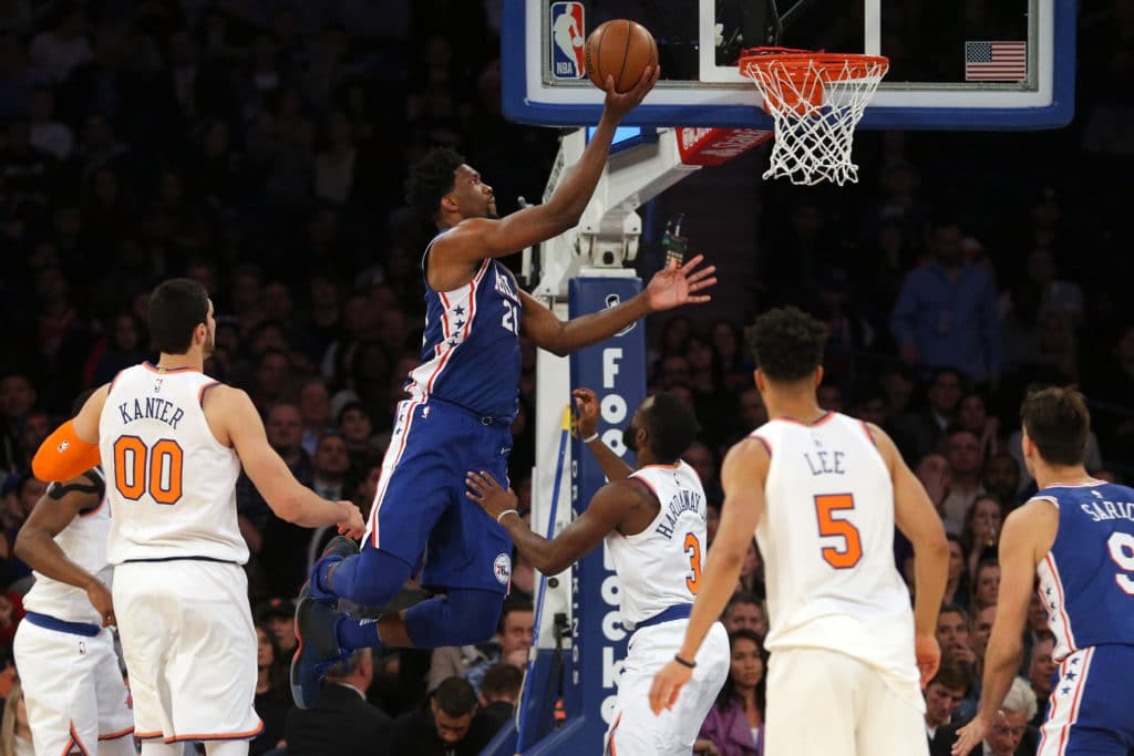 At the Buzzer   Sixers Beat Knicks in Comeback Fashion