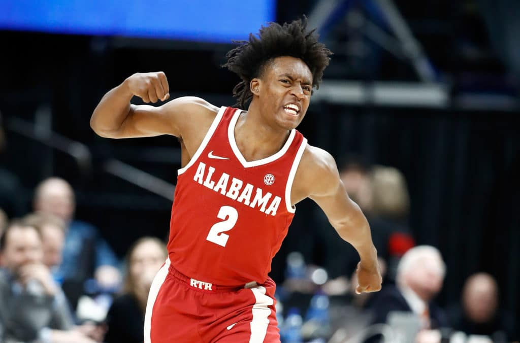 Potential Knicks NBA lottery pick profile Alabama PG Collin Sexton