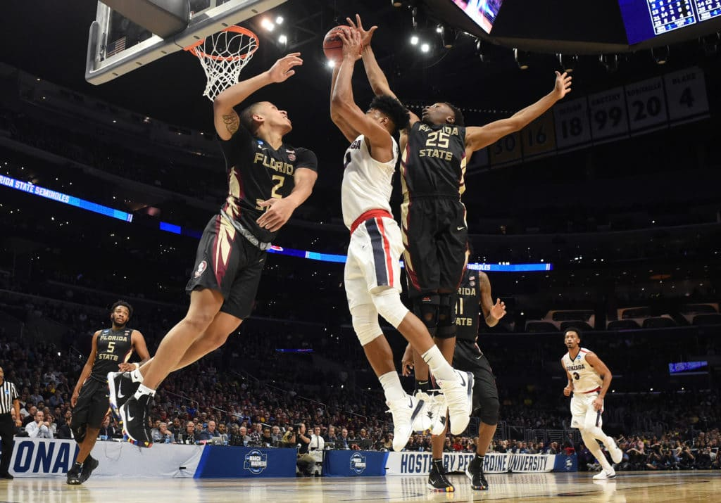 Seminoles swarm overwhelm Zags with committee approach