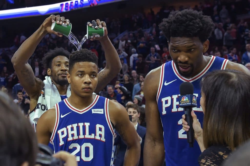 Sixers cruise past Nuggets as Fultz returns