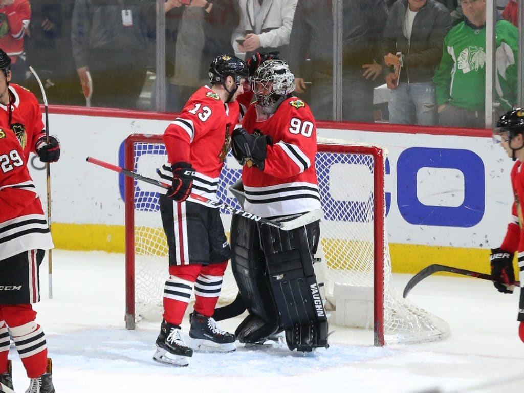 Emergency Goalie Pressed Into Action In Blackhawks Win