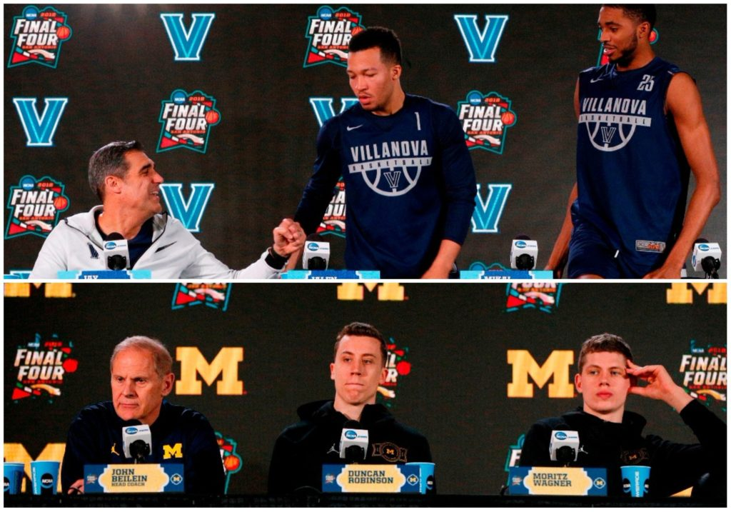 MI and Villanova close out March Madness tonight