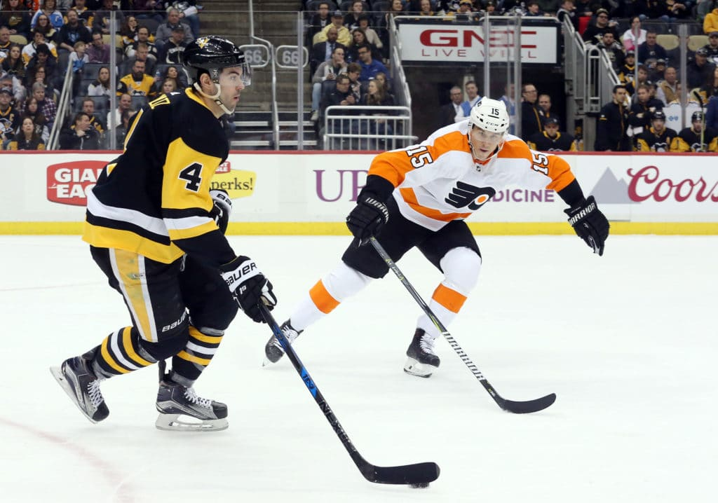 Penguins to host Flyers in playoff opener tonight