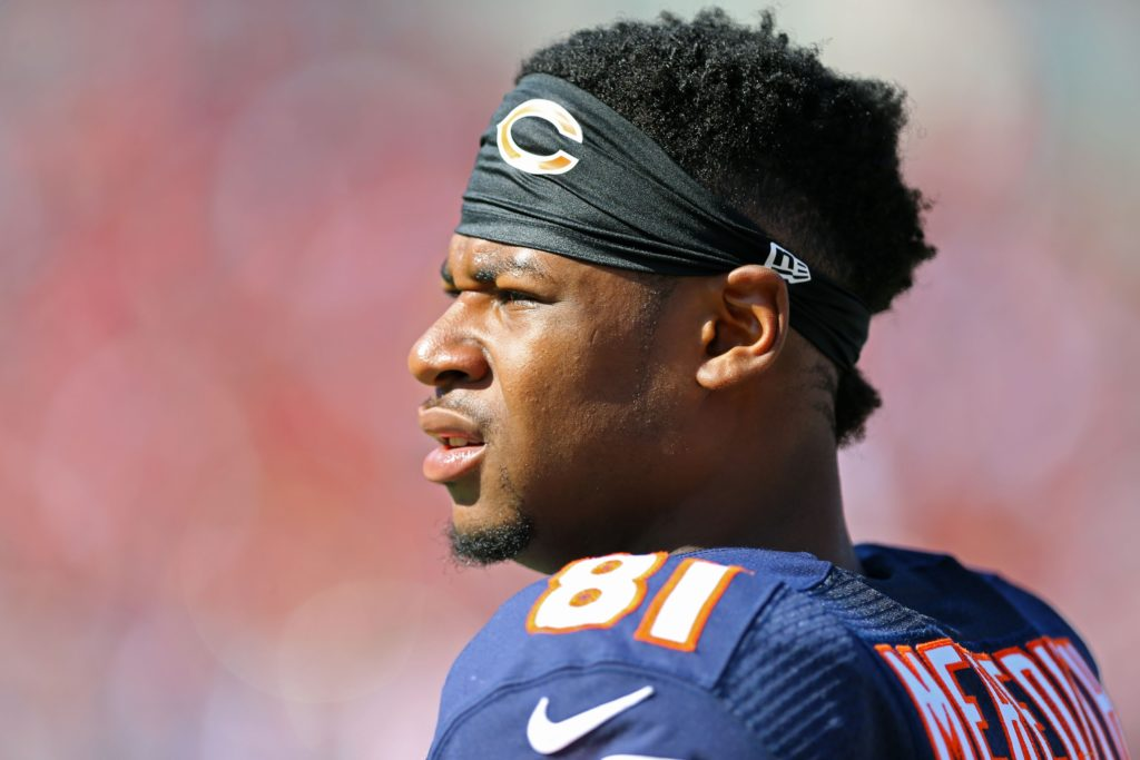 Bears decline to match Cameron Meredith's offer sheet from Saints