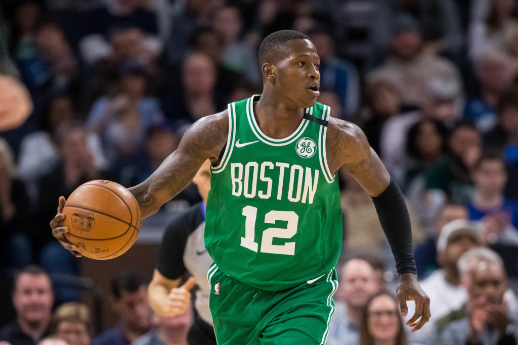 Boston Celtics take series lead in game one thriller