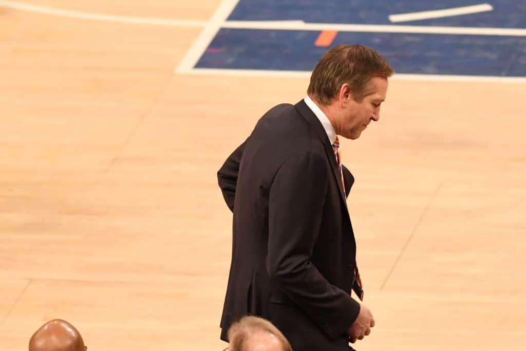 Jeff Hornacek's daughter: The coach Knicks fans didn't see