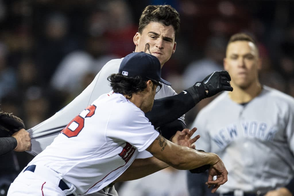 A rivalry rekindled Yankees Red Sox brawl at Fenway Park