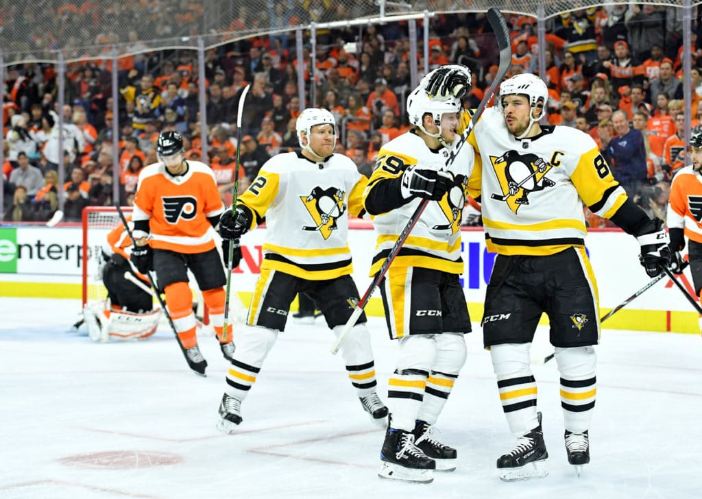 Penguins over the Flyers in game 4
