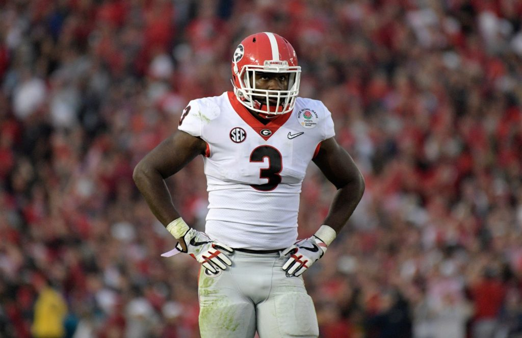 Roquan Smith drafted in the first round by Chicago