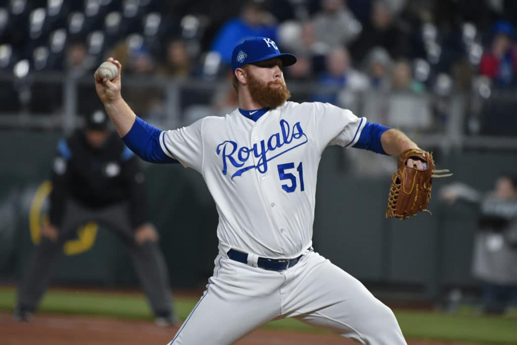 Royals reliever grabs bus steering wheel in emergency situation