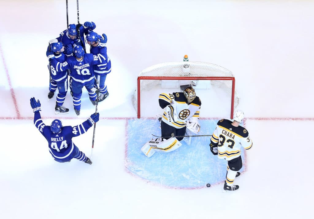 Bruins Notes: Frederik Andersen Lifts Leafs With Much-Improved Game 3 Performance