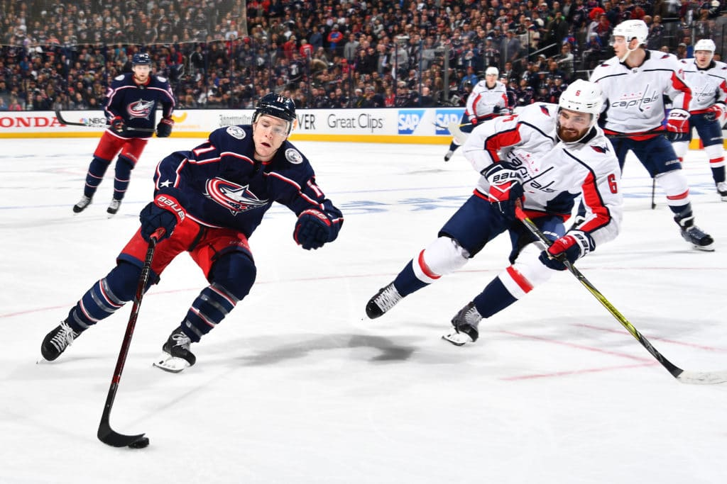 Matt Calvert lifts Blue Jackets past Capitals in OT