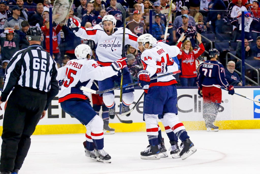 Capitals strike back with double-OT win over Blue Jackets