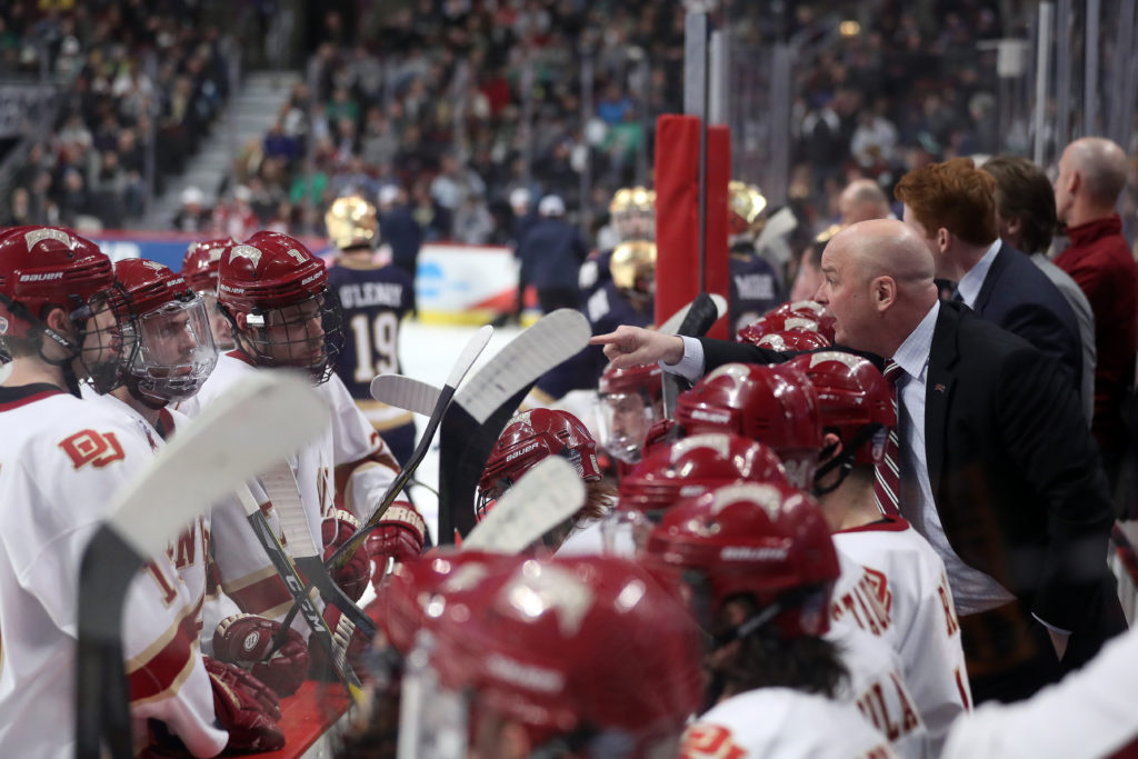 University of Denver hockey coach leaving for Dallas Stars job