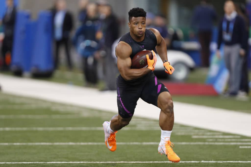 Saquon Barkley Welcomes Daughter Before NFL Draft