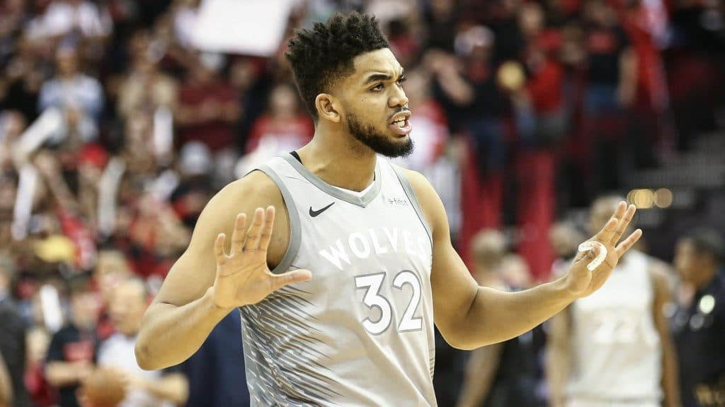 Timberwolves dominate Rockets in 2nd half for first playoff win since 2004