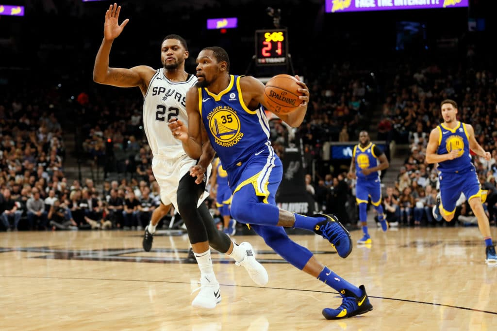 Golden State Warriors fail to sweep Spurs after intense fourth quarter