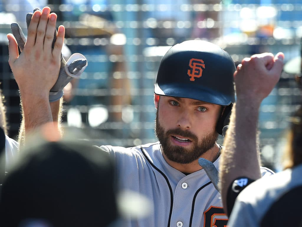 Mac Williamson in lineup for Giants on Friday night
