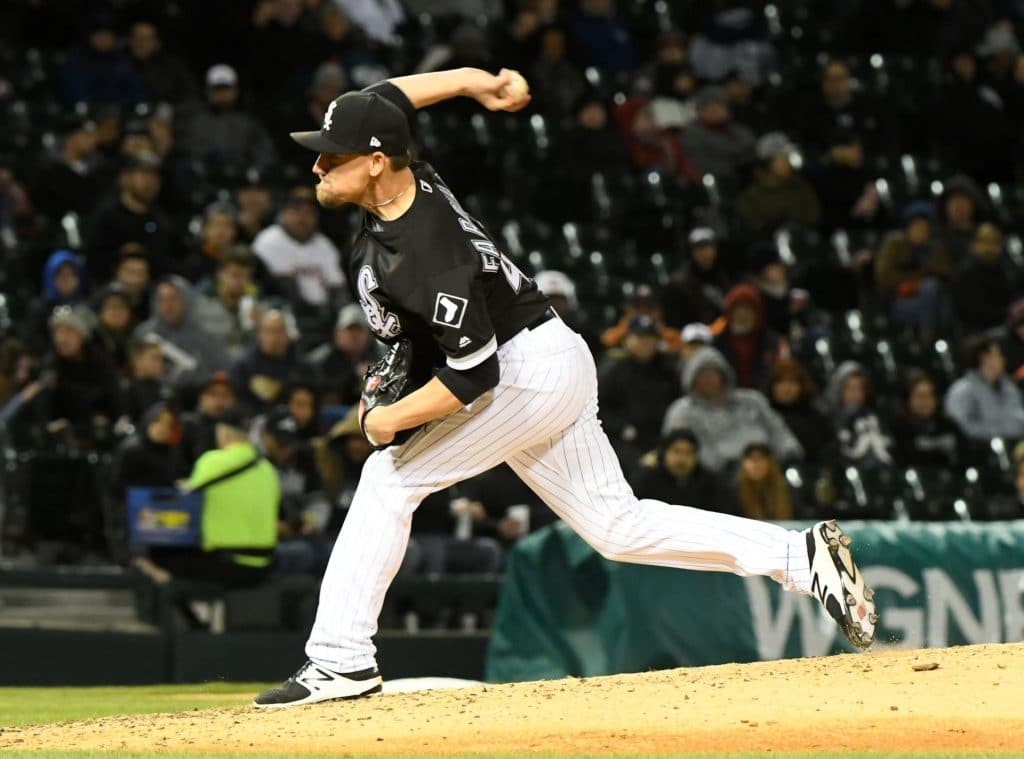 White Sox reliever Danny Farquhar passes out in dugout goes to hospital