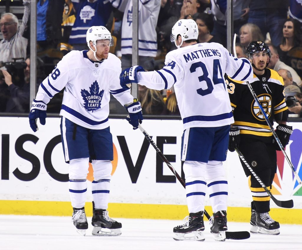 Andersen, Maple Leafs shut down Bruins to force Game 7