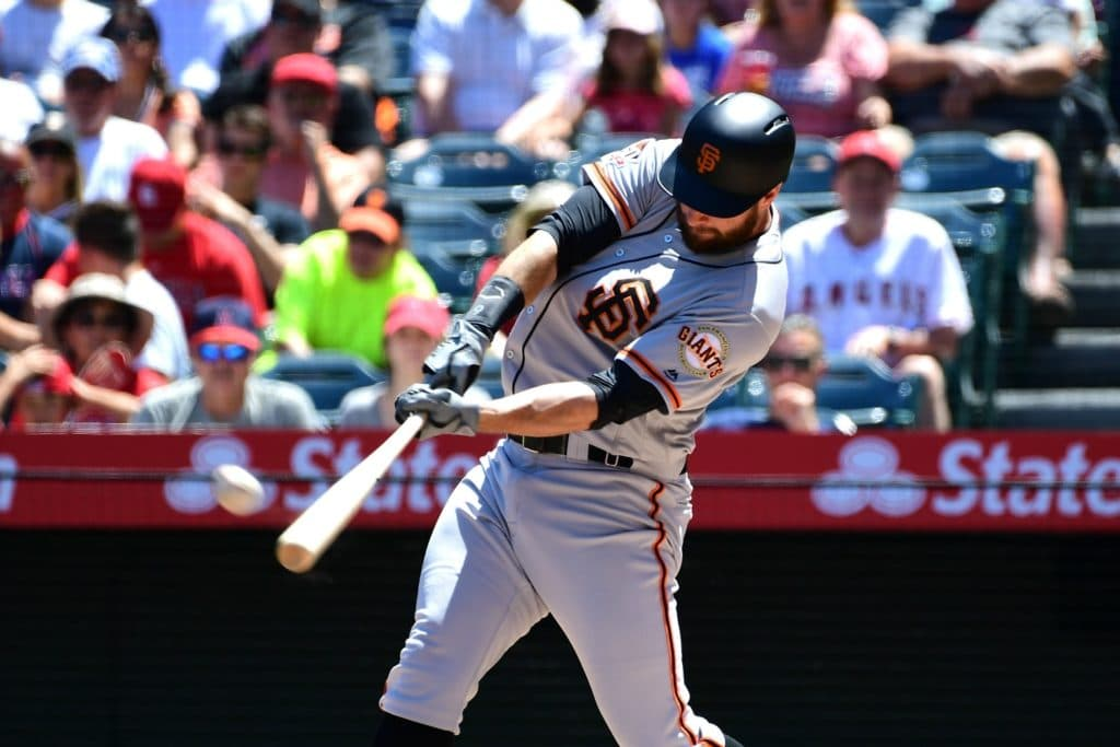 Brandon Belt sets Major League Baseball record with 21-pitch at-bat