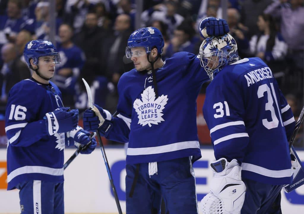Bruins fail to finish off Leafs again, lose 3-1