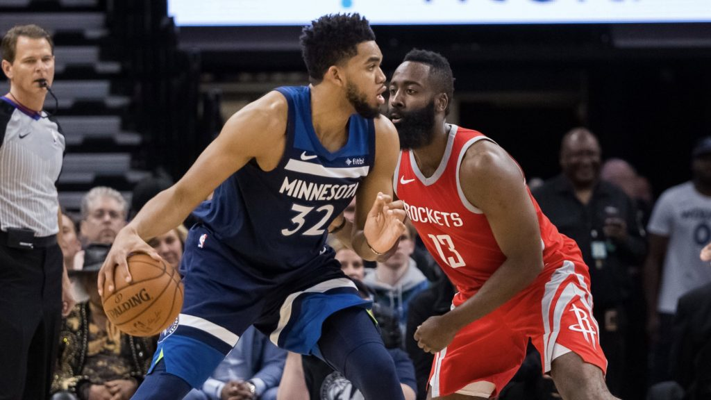 Rockets oust Timberwolves, James and Westbrook dominate