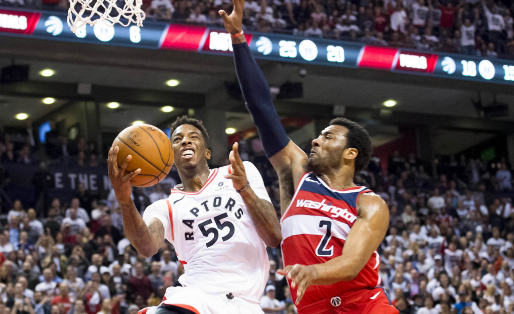 Raptors regain series lead with 108-98 Game 5 win over Wizards
