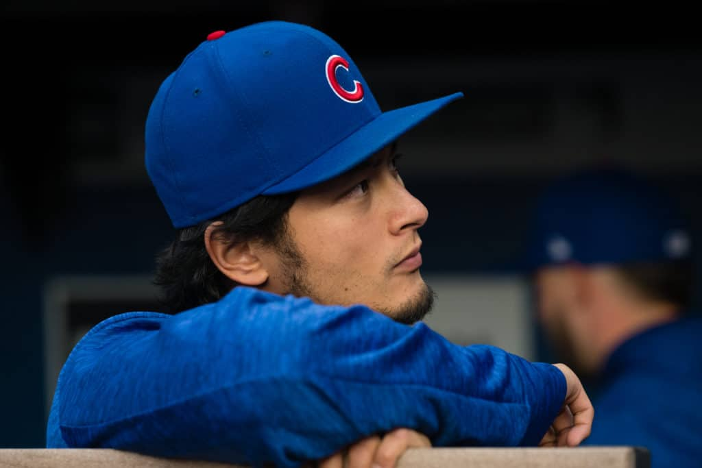 Darvish rebounds in Cubs' victory