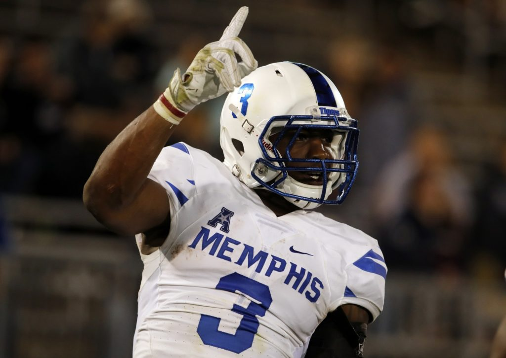 Bears trade up to get their receiver, Memphis' Anthony Miller