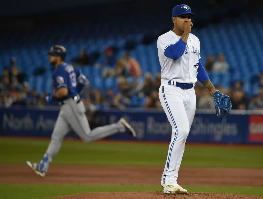 Jays' Stroman still looking for first win
