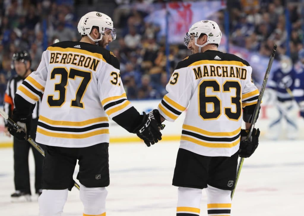Bruins seek secondary scoring against Lightning in Game 3