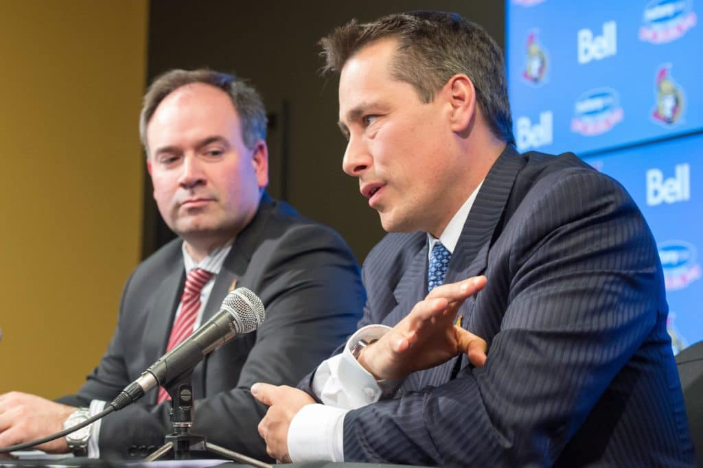 Sens to pick 4th overall at the 2018 NHL Draft