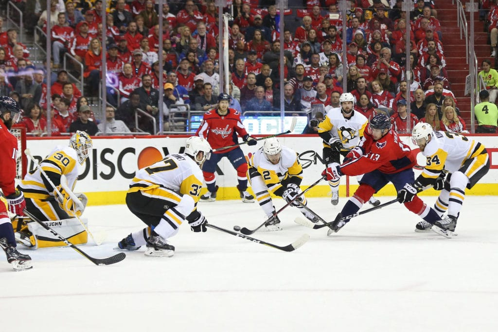Penguins even up series with Capitals