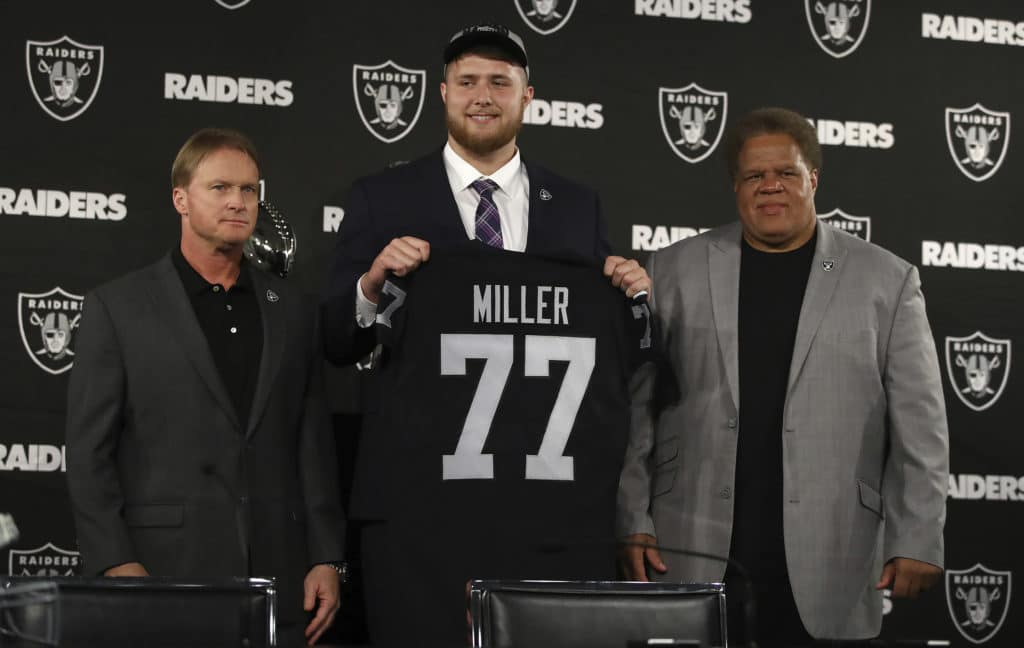 Raiders draft inside linebacker in the sixth round