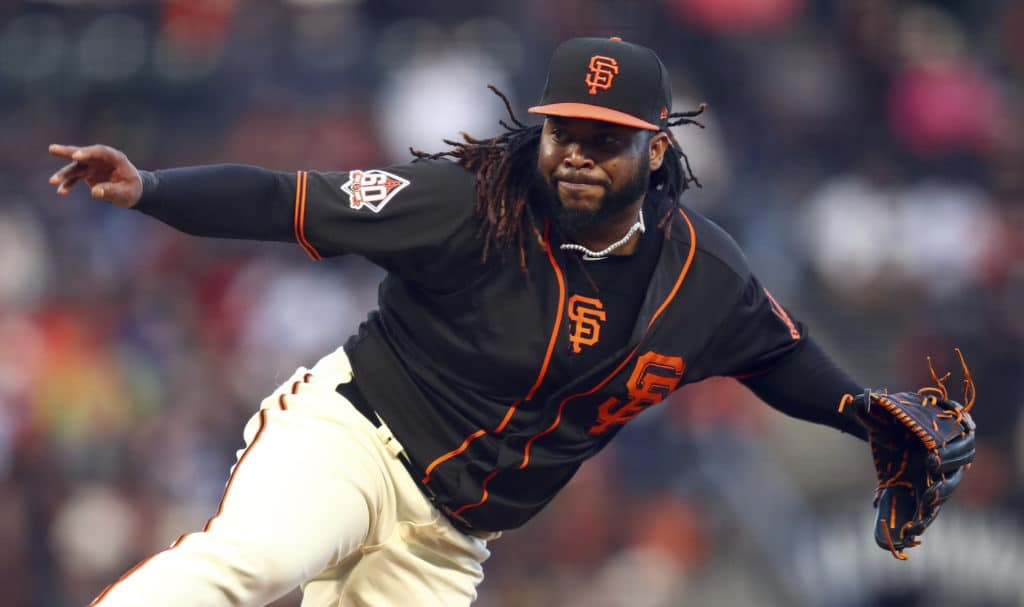 Giants' injury troubles continue as Cueto hits DL