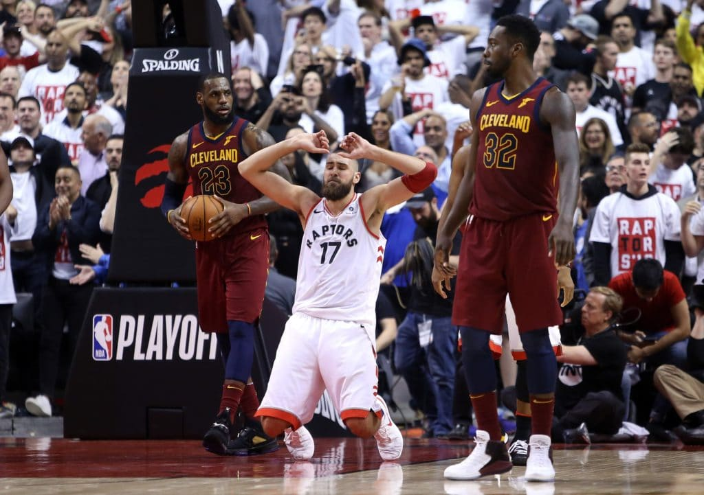 This supercut of LeBron James burying the Raptors is stunning