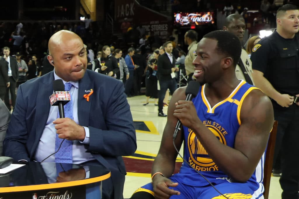 Charles Barkley Wants Somebody To Punch Draymond Green In The Face