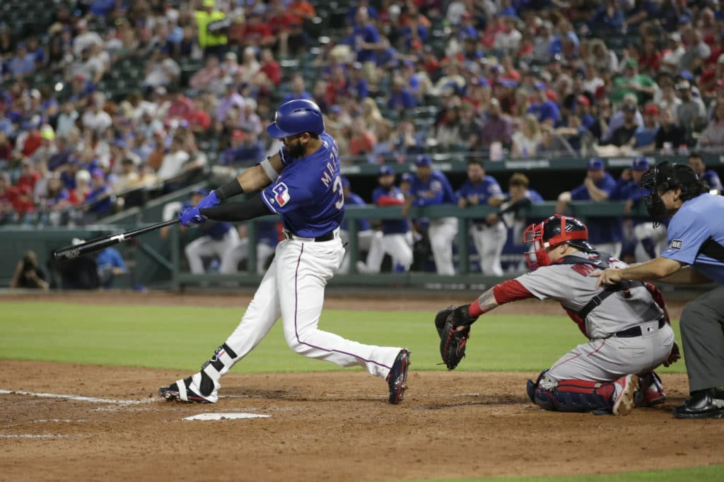 Rangers open four-game series against Red Sox Thursday night