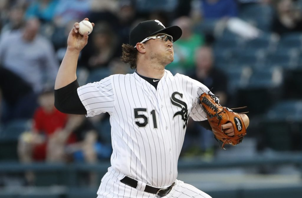 Shields pitching no-hitter for White Sox thru 6 vs Twins