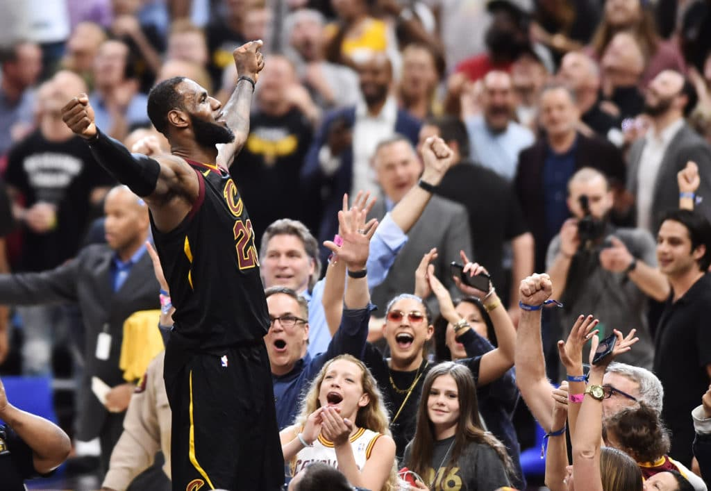 Don't try it at home! LeBron revels in buzzer-beating basket