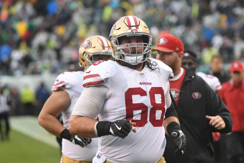 49ers release veteran offensive lineman
