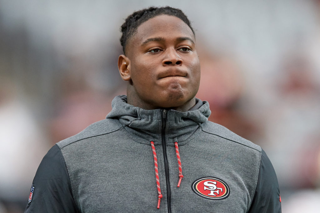 49ers Reuben Foster pleads 'not guilty' to domestic violence, weapons charges