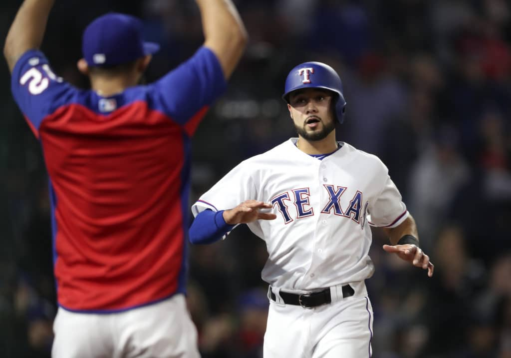 Rangers activate Odor from DL, DFA Nunez
