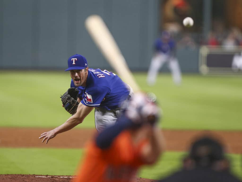 Charlie Morton fans 14 in Astros' win over Rangers